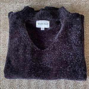 Olive & Oak chenille sweater